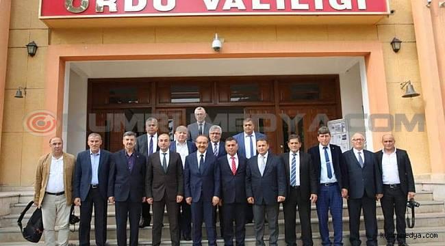 ORDEF'TEN VALİ YAVUZ'A ZİYARET